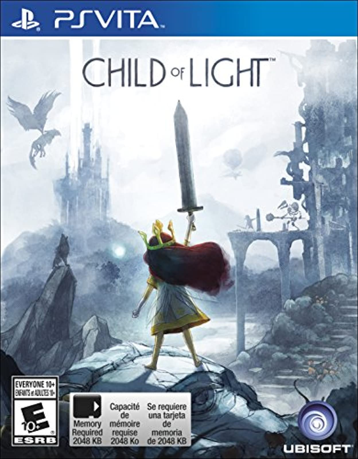 Child Of Light PlayStation Vita Standard Edition For Ps Vita RPG