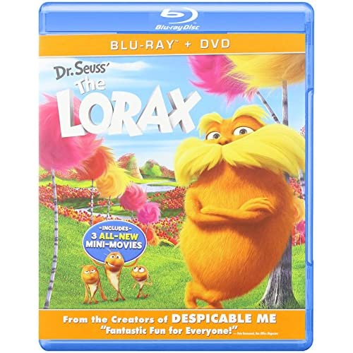 Dr Seuss' The Lorax DVD On Blu-Ray With Danny DeVito
