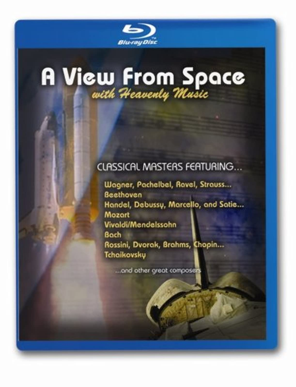 A View From Space With Heavenly Music Blu-Ray On Blu-Ray Music &
