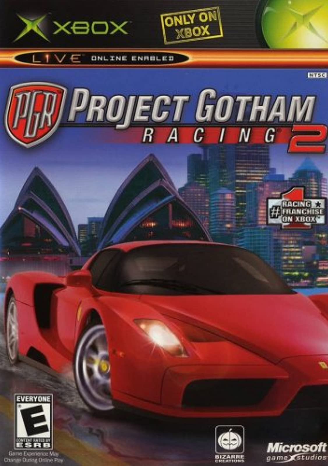 Project Gotham Racing 2 For Xbox Original