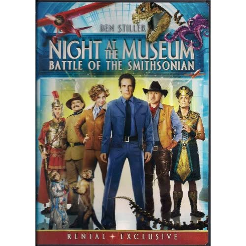 *Night At The Museum:battle Smith Rr On DVD