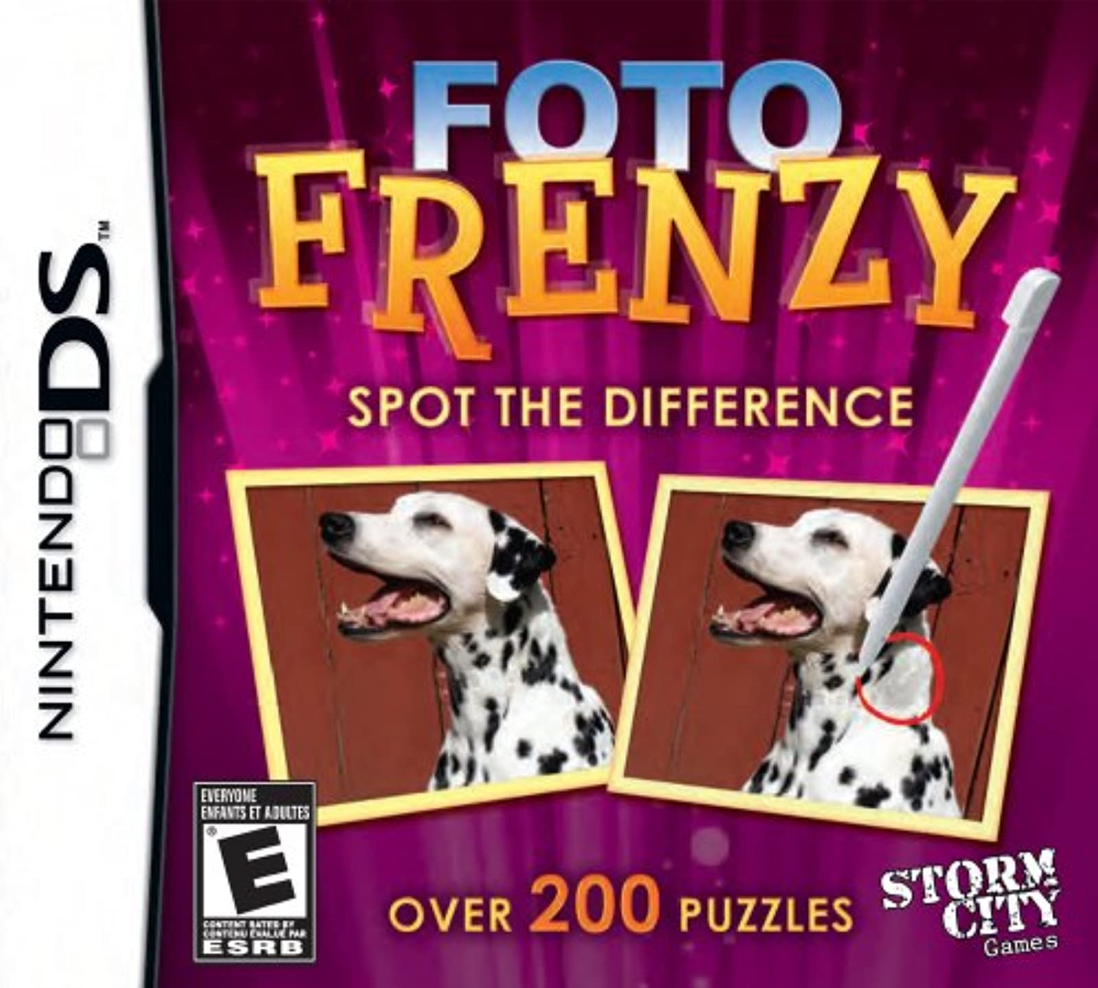 Foto Frenzy: Spot The Difference For Nintendo DS DSi 3DS 2DS Puzzle