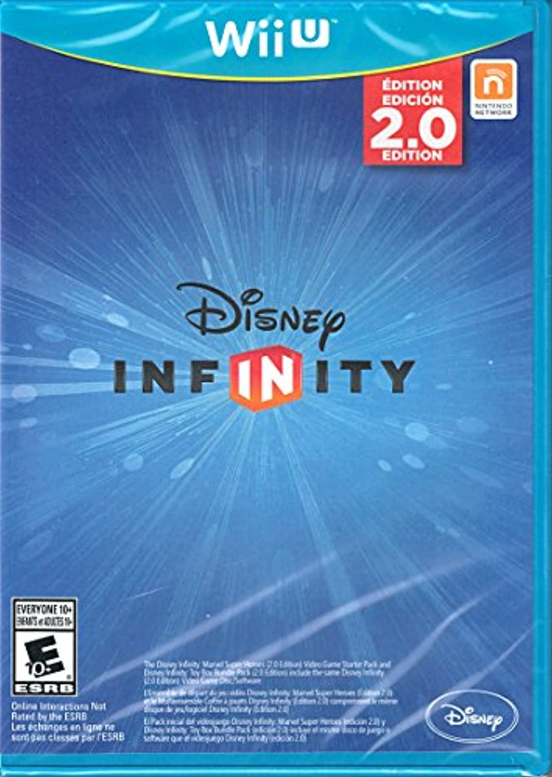 Disney Infinity 2.0 Marvel Super Heroes Replacement Game Only No Base Or Figures
