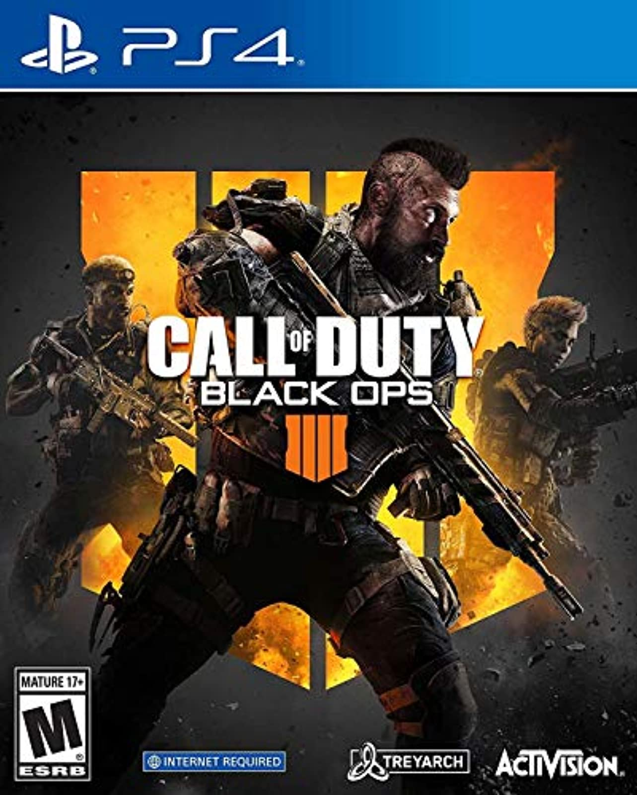 Call Of Duty: Black Ops 4 Standard Edition For PlayStation 4 PS4 COD Shooter PS5