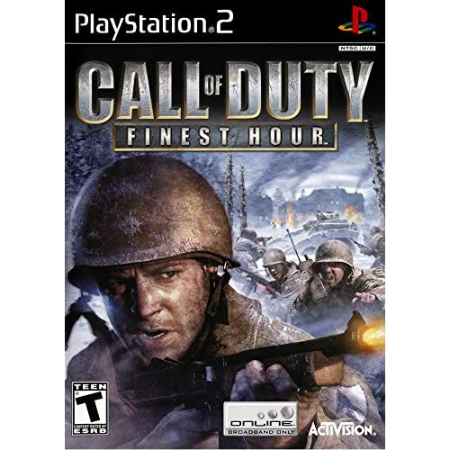 Call Of Duty Finest Hour For PlayStation 2 PS2 COD