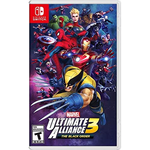 Marvel Ultimate Alliance 3: The Black Order For Nintendo Switch RPG