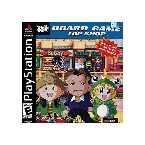 Board Game Top Shop For PlayStation 1 PS1