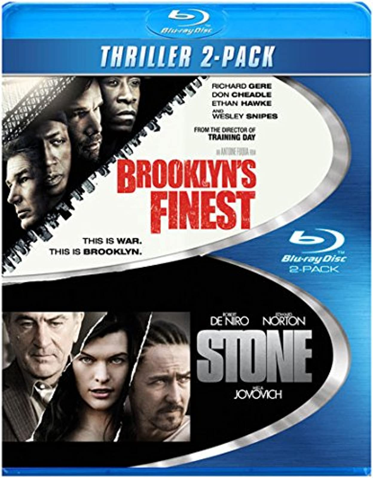 Brooklyn's Finest Blu-Ray On Blu-Ray With Richard Gere