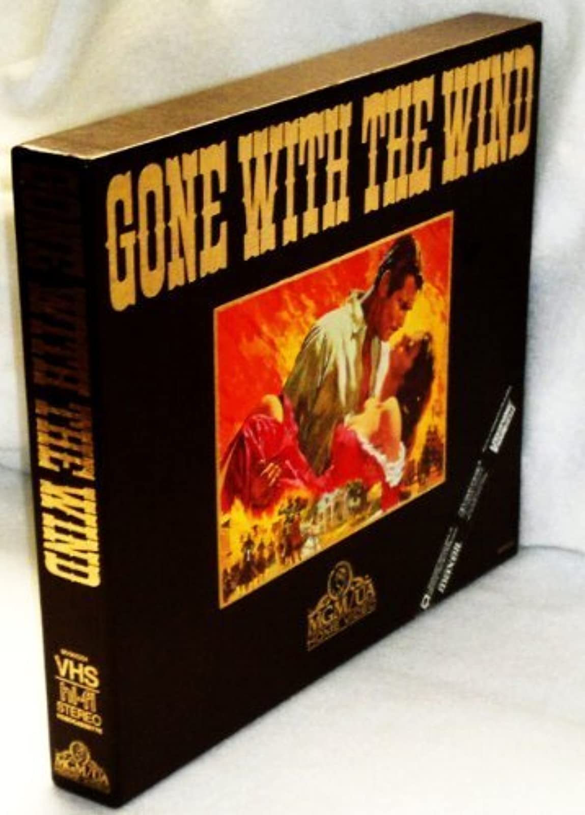 Gone With The Wind 2 Deluxe Set With Souvenir Program By Mgm/ua On VHS