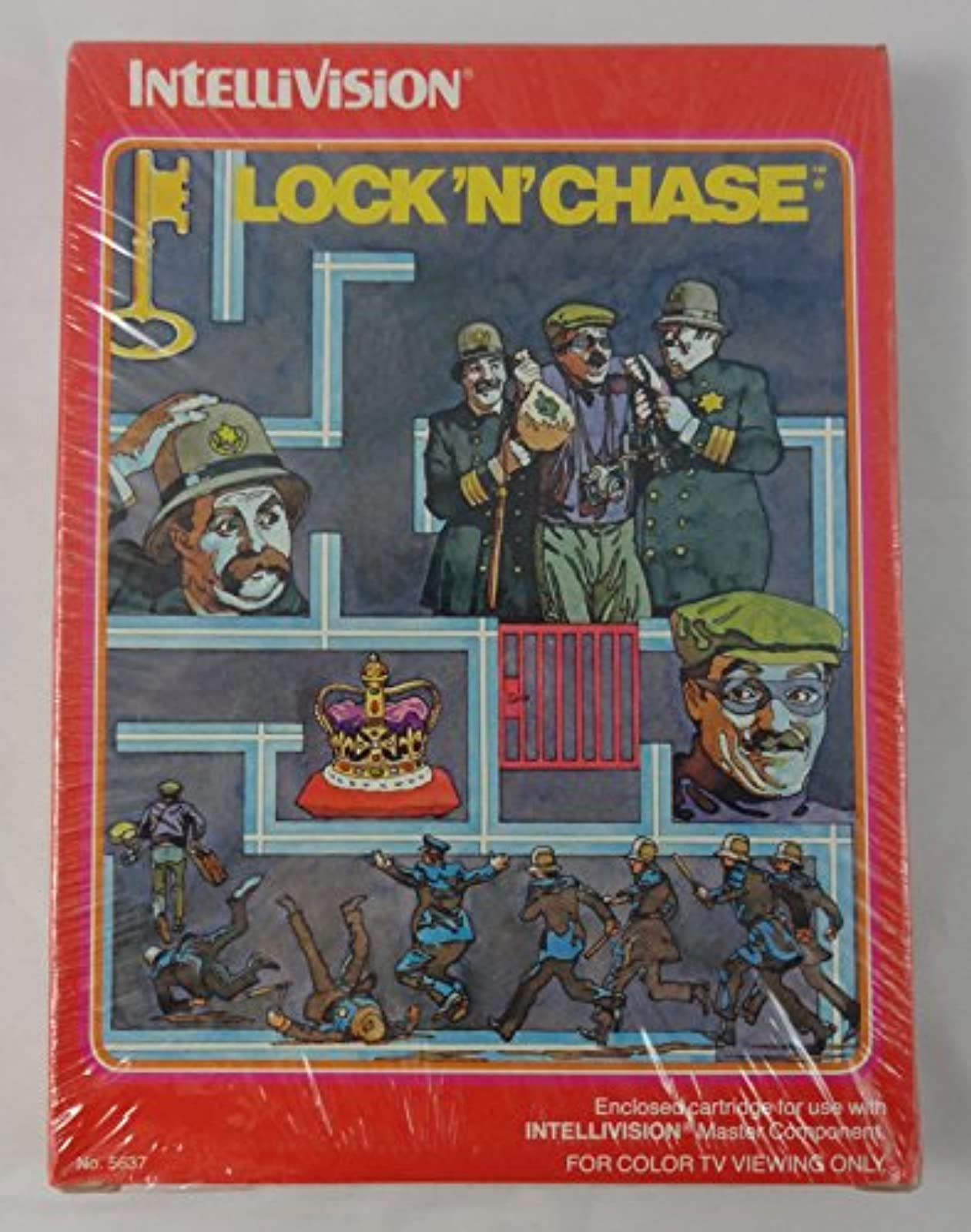 Lock 'N' Chase Intellivision For Intellivision