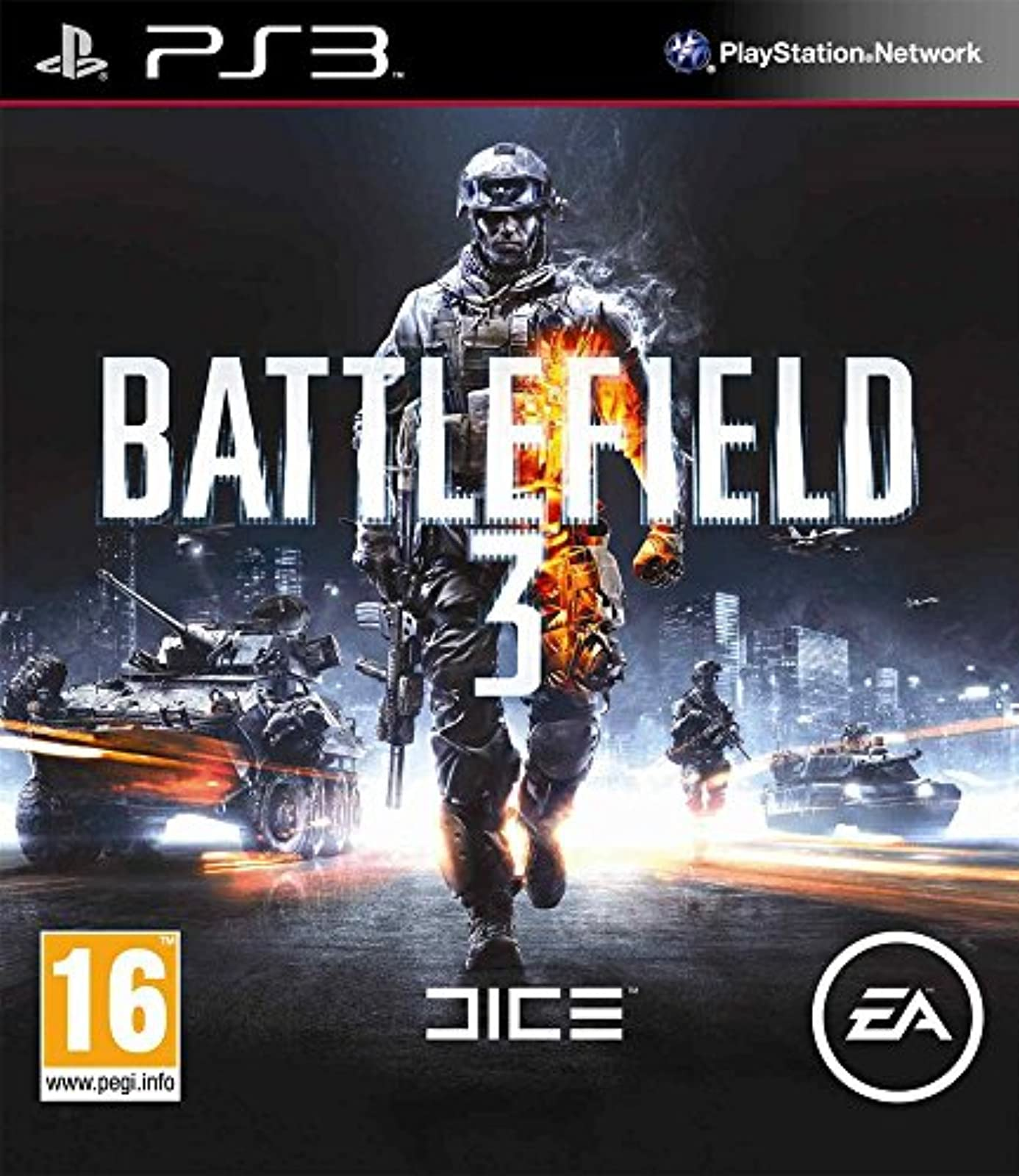 Electronic Arts Battlefield 3 Game For PS3