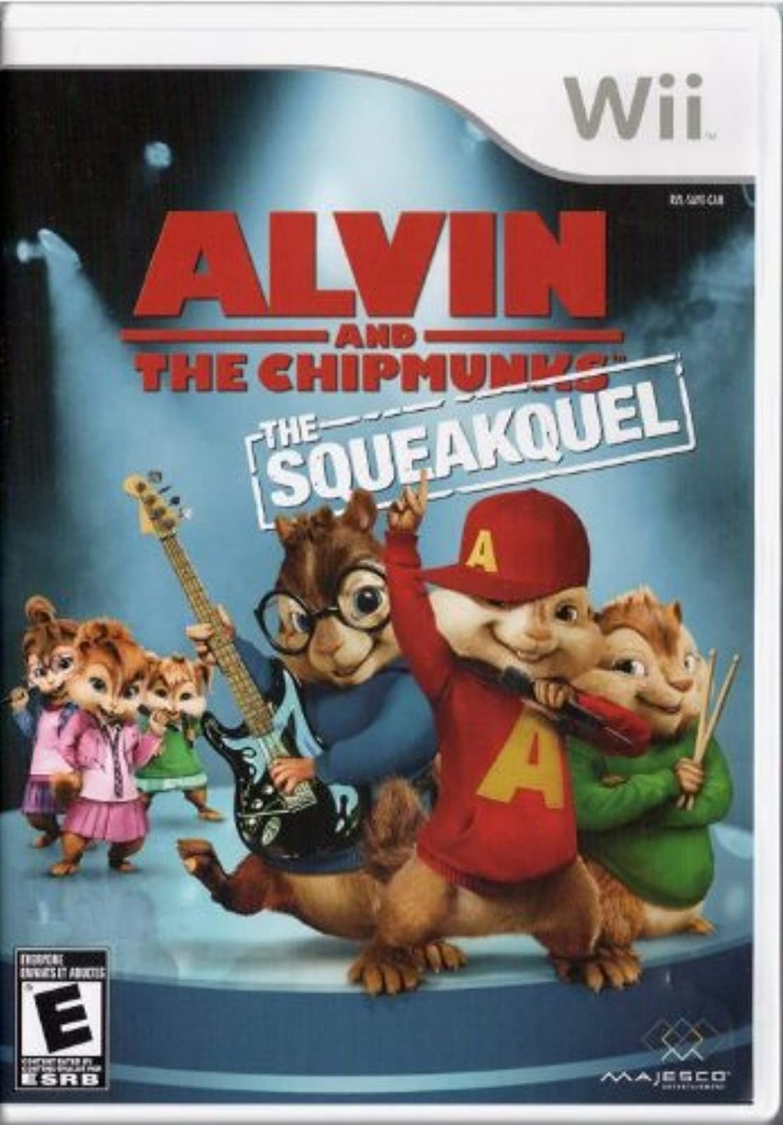 Alvin And The Chipmunks: The Squeakquel For Wii And Wii U