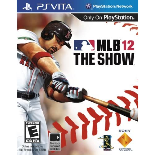 MLB 12 The Show PlayStation Vita For Ps Vita Baseball