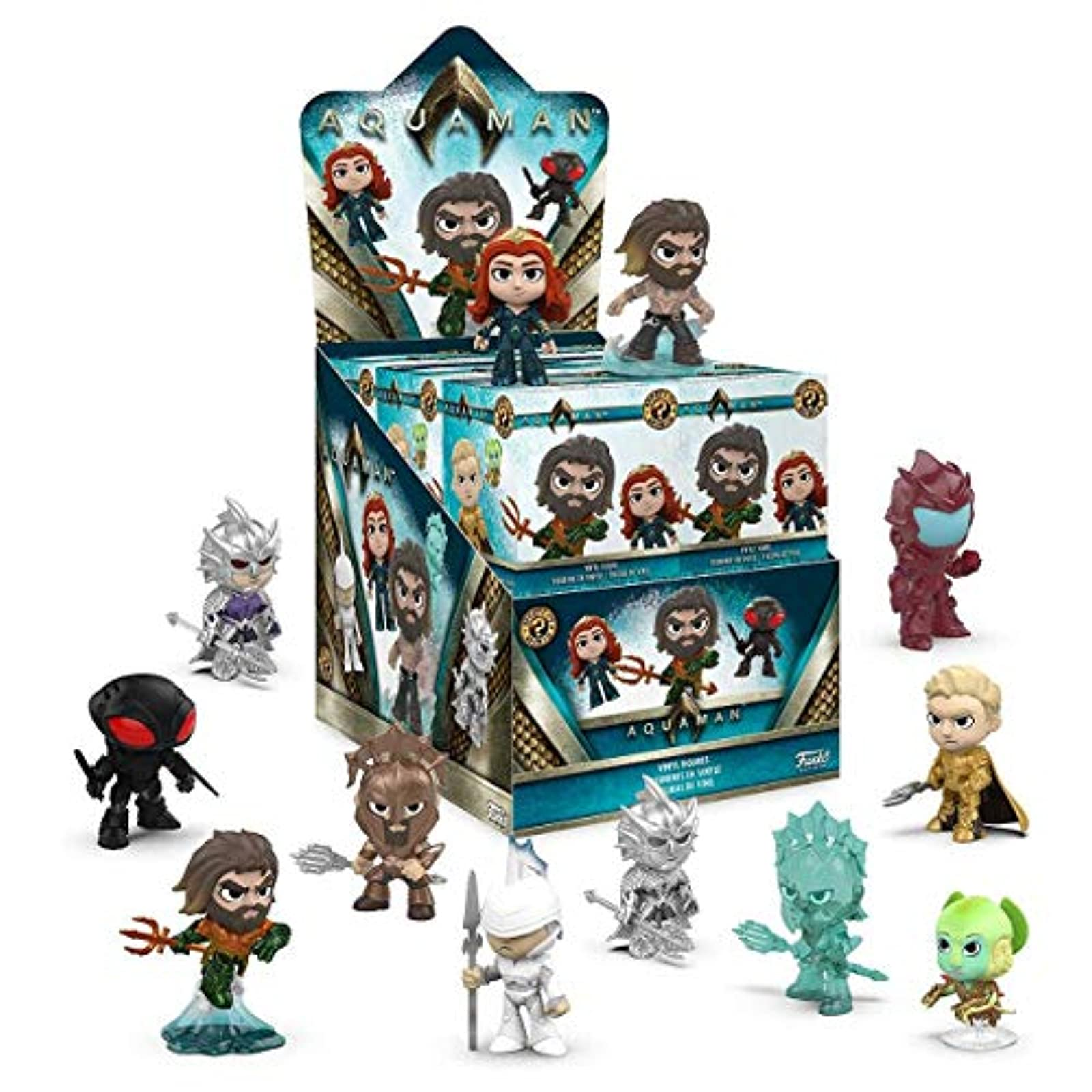 Funko Mystery Mini: Aquaman Movie One Mystery Collectible Figure Multicolor Toy