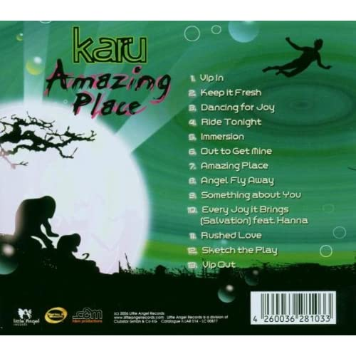 Image 1 of Amazing Place By Karu On Audio CD Dance & Electronica
