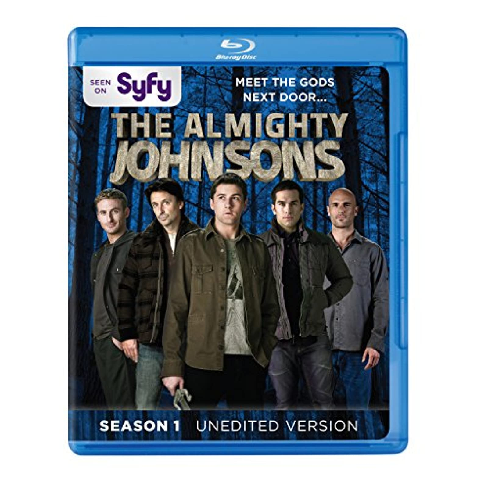 Almighty Johnsons: Season 1 Blu-Ray On Blu-Ray