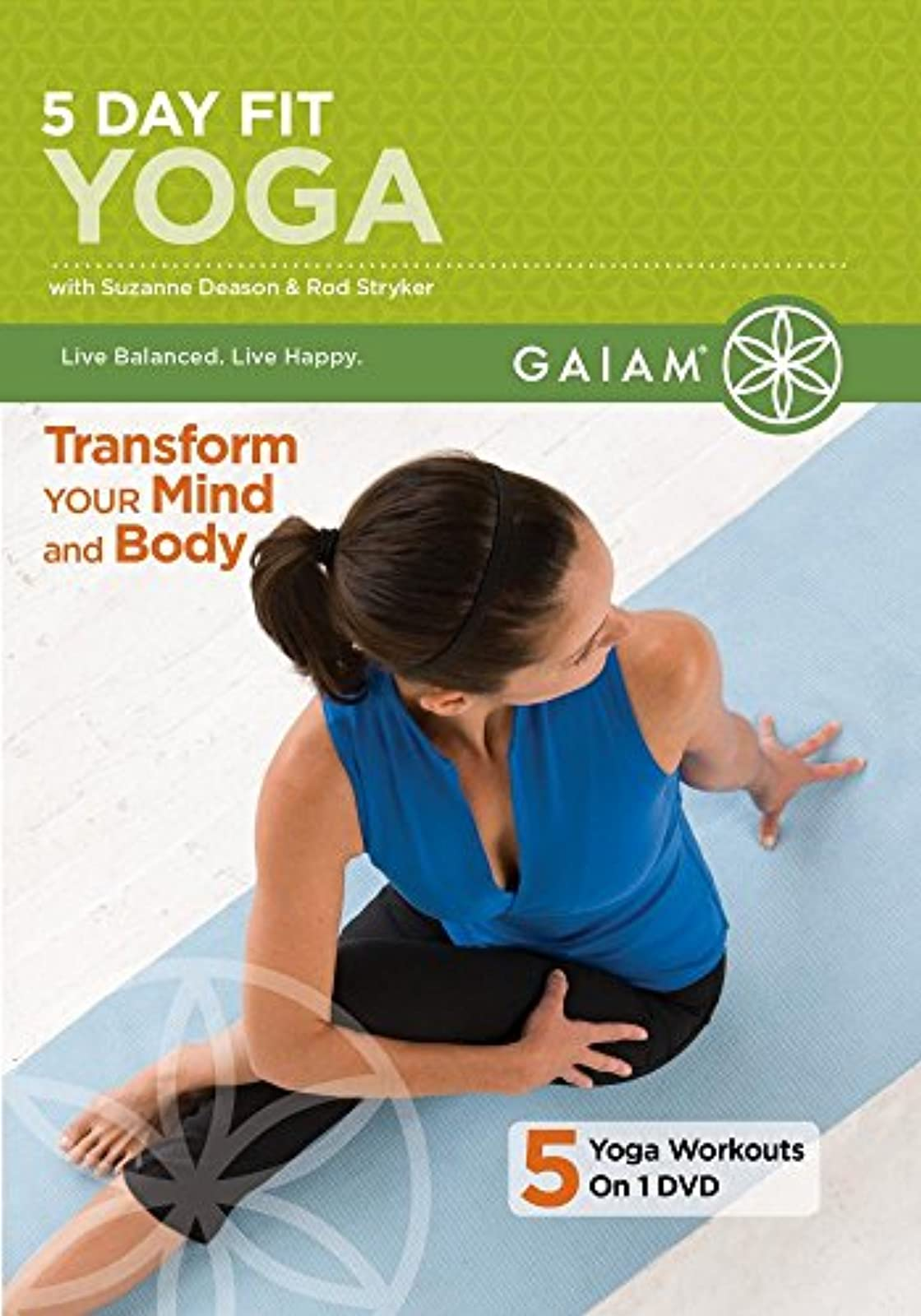 5 Day Fit Yoga On DVD With Suzanne Deason Exercise