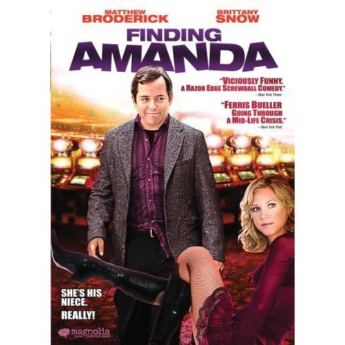 Finding Amanda With Matthew Broderick On DVD