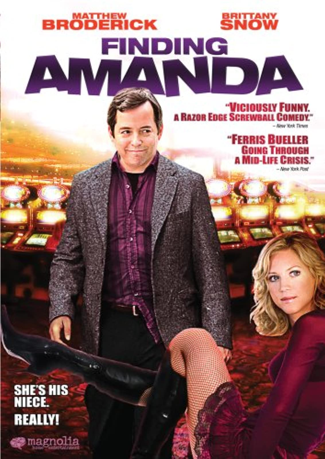 Image 1 of Finding Amanda With Matthew Broderick On DVD