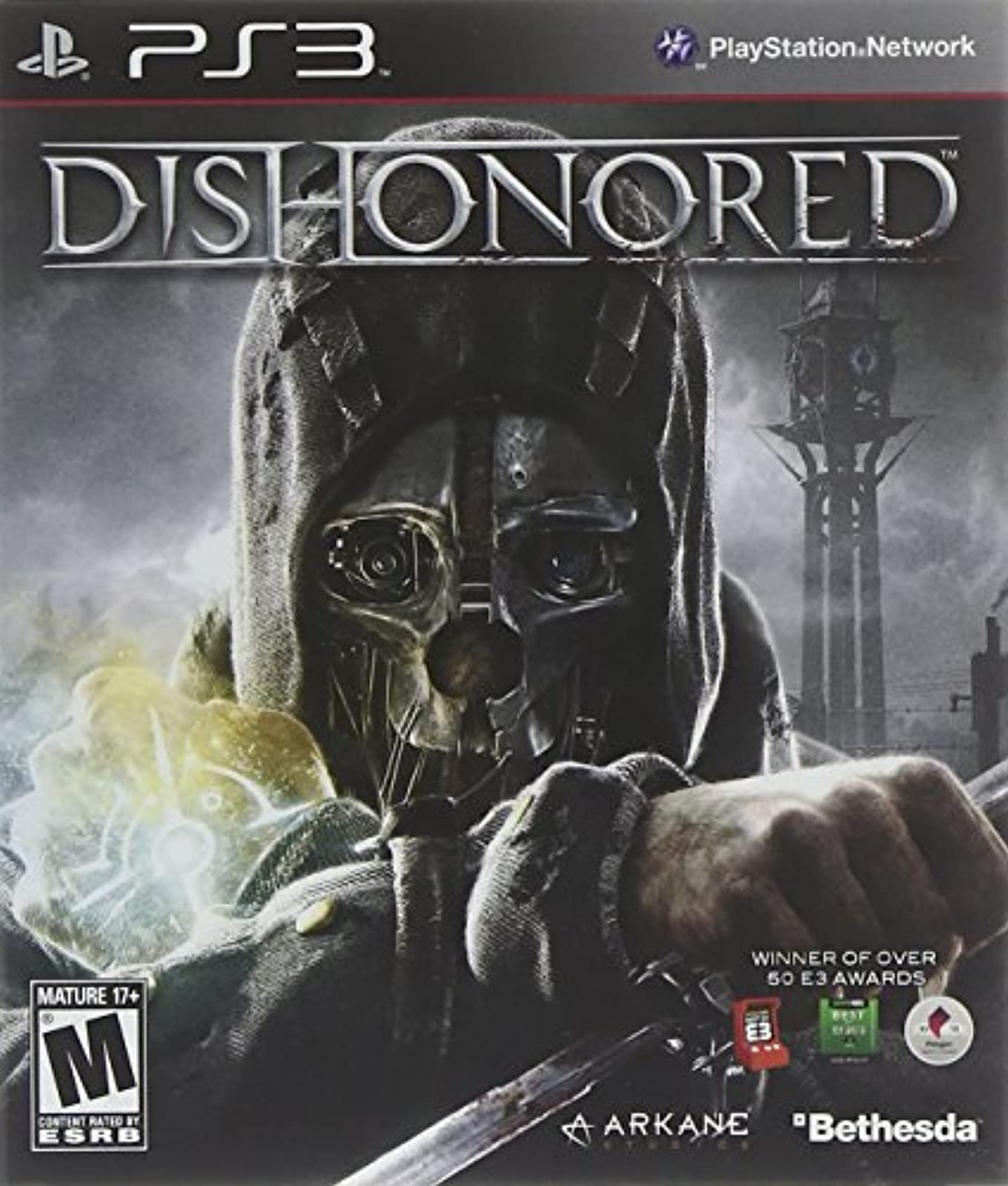 Dishonored For PlayStation 3 PS3 Shooter