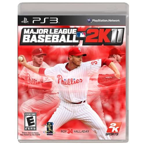 Major League Baseball 2K11 For PlayStation 3 PS3