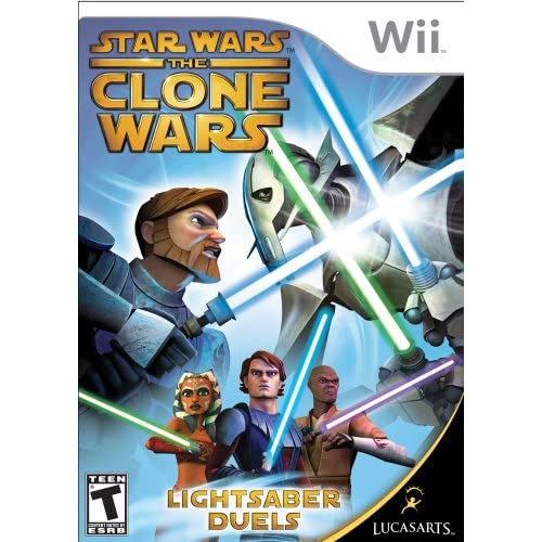 Star Wars The Clone Wars: Lightsaber Duels For Wii And Wii U