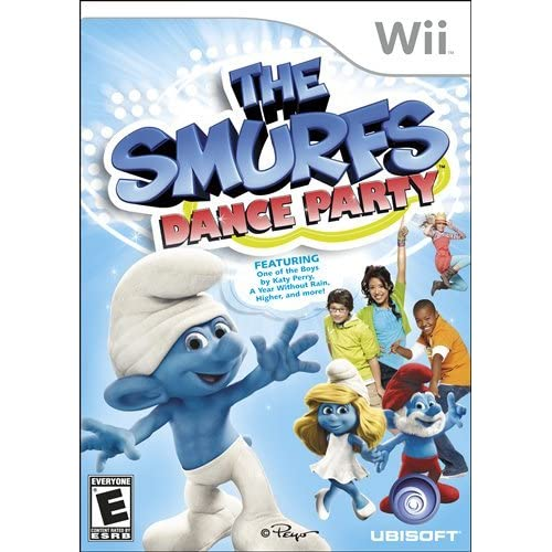 The Smurfs Dance Party For Wii