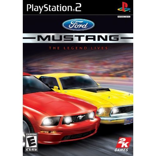 Ford Mustang The Legend Lives PS2 For PlayStation 2