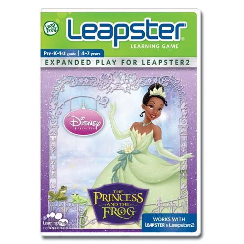 Leapfrog Leapster Learning Game: Disney The Princess And The Frog For