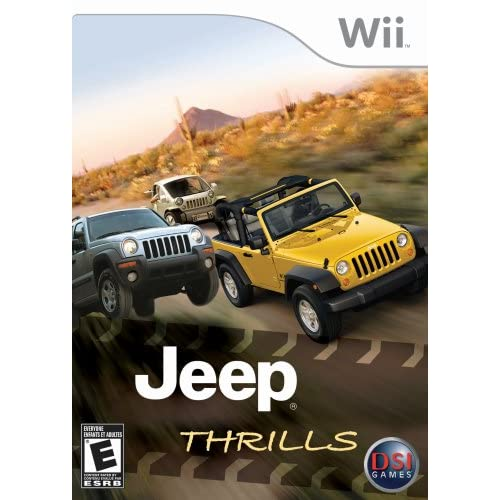 Jeep Thrills For Wii And Wii U Racing