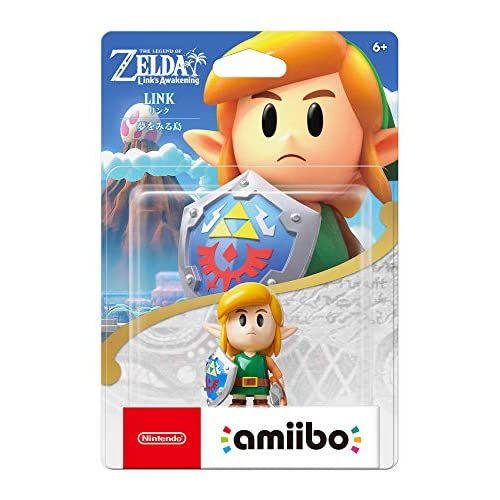 Nintendo Amiibo Link: The Legend Of Zelda: Link's Awakening Series Switch For Ni
