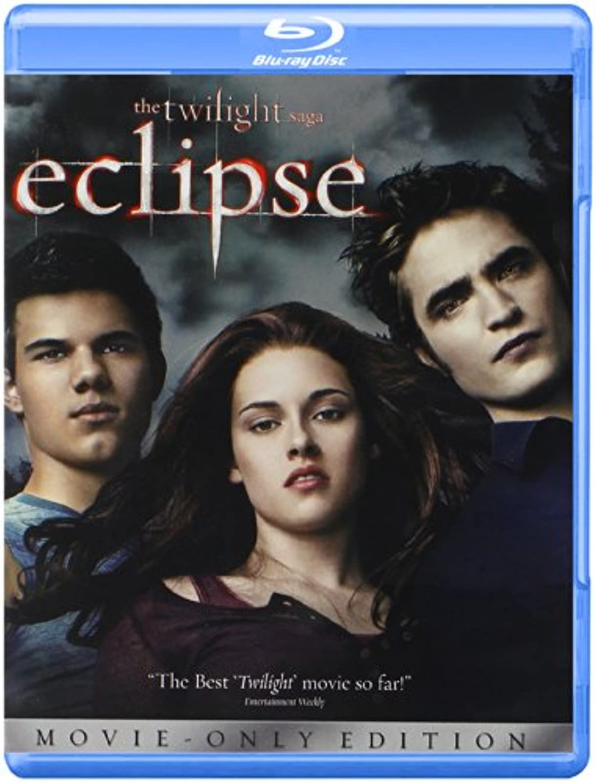 The Twilight Saga: Eclipse Blu-Ray On Blu-Ray With Kristen Stewart