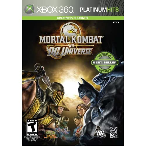 Image 0 of Mortal Kombat Vs DC Universe For Xbox 360 Fighting