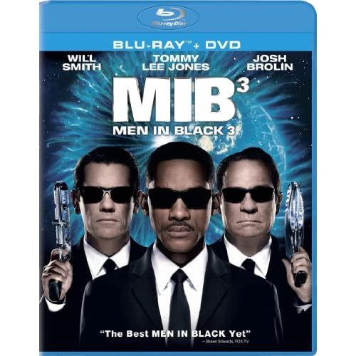 Men In Black 3 On Blu-Ray With Will Smith Comedy