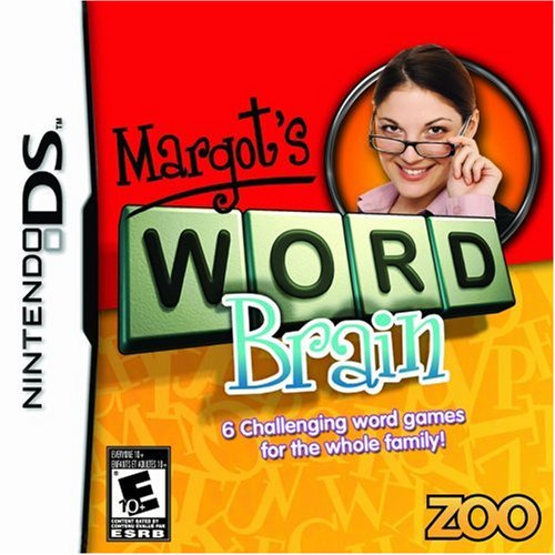 Margot's Word Brain For Nintendo DS DSi 3DS 2DS Puzzle