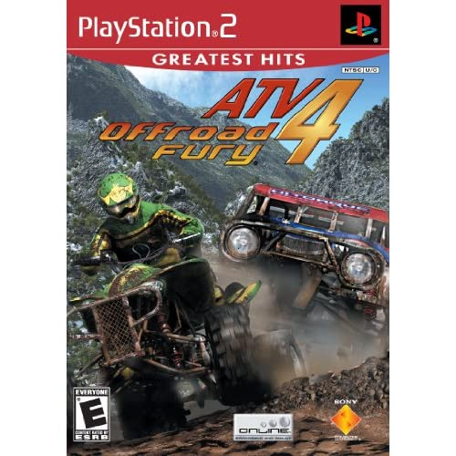 ATV Offroad Fury 4 For PlayStation 2 PS2