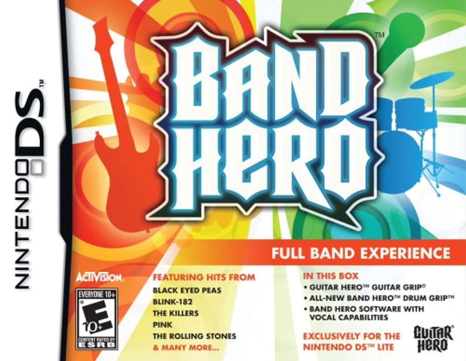 Band Hero For Nintendo DS DSi 3DS 2DS
