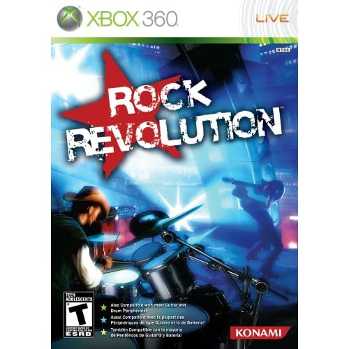 Image 0 of Rock Revolution Game For Xbox 360 Music