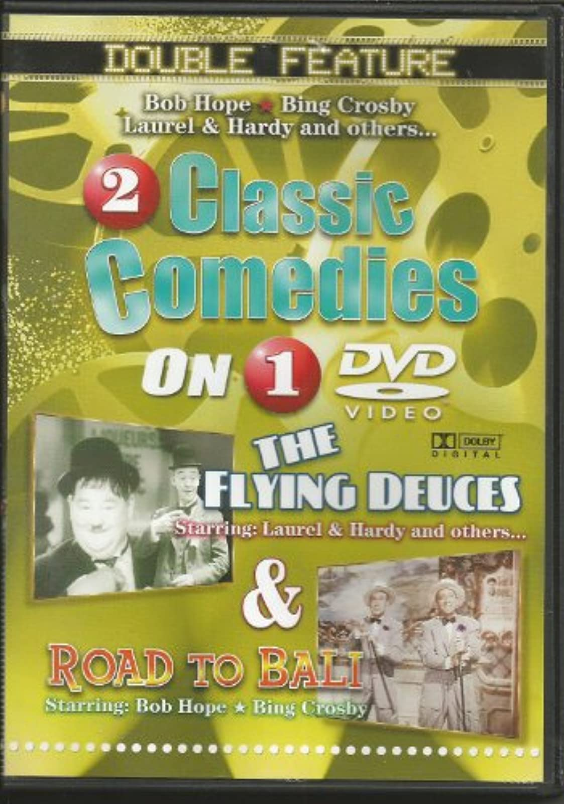 2 Classic Comedies: The Flying Deuces & Road To Bali On DVD with Stan