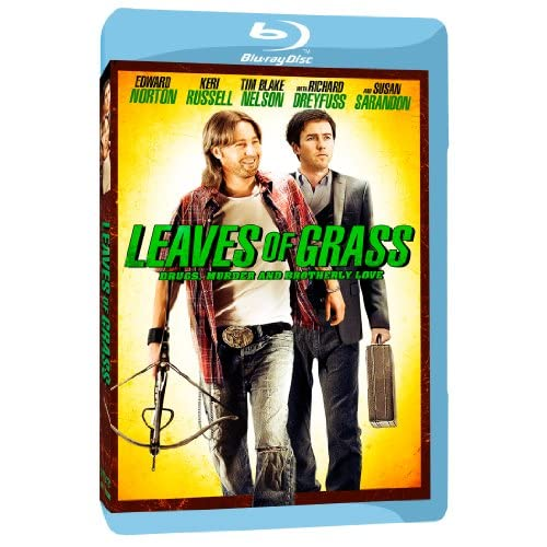 Leaves Of Grass Blu-Ray On Blu-Ray With Edward Norton Drama