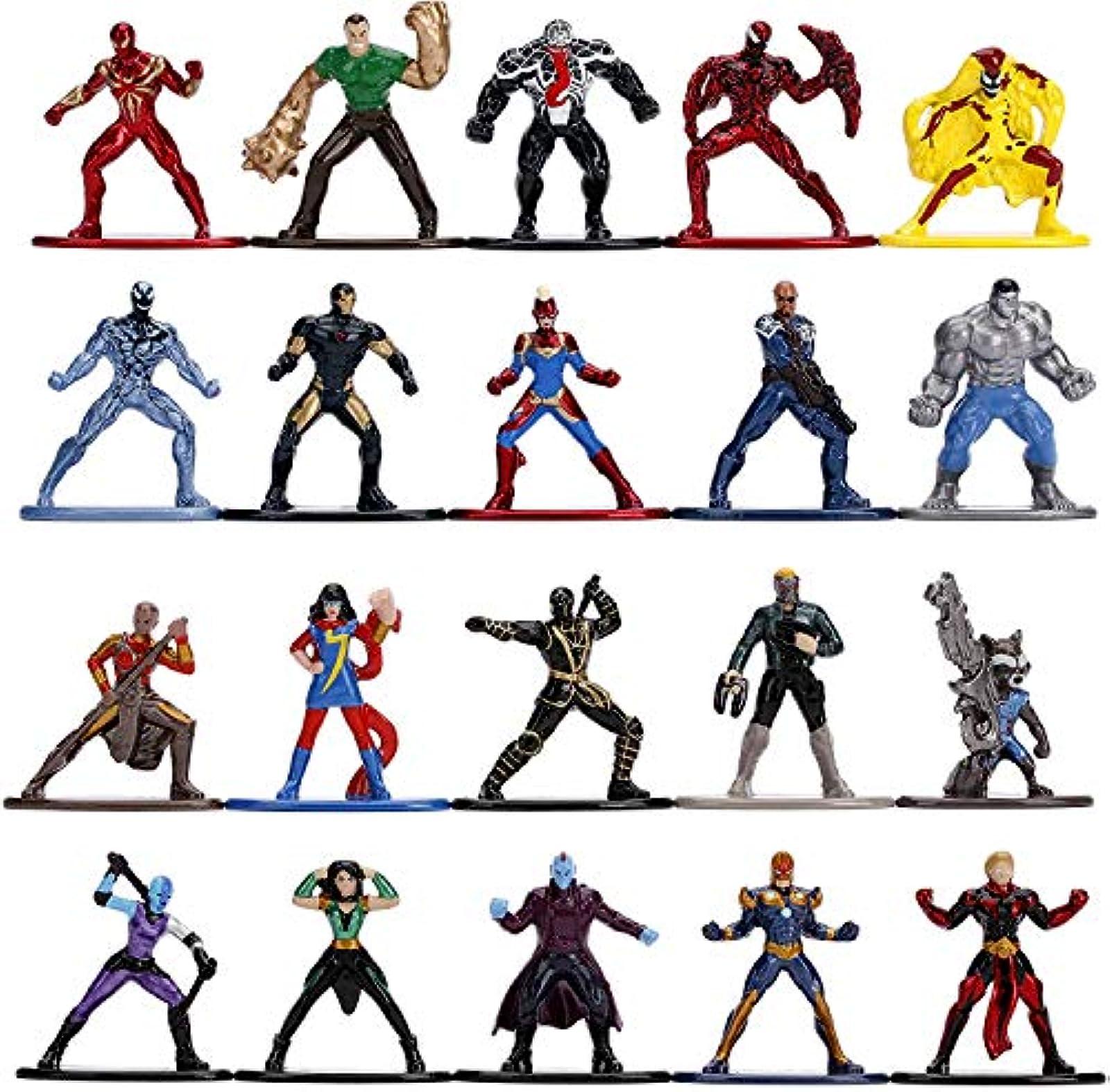 Marvel 1.65 Die-Cast Metal Collectible 20-pack Wave 3 Jada