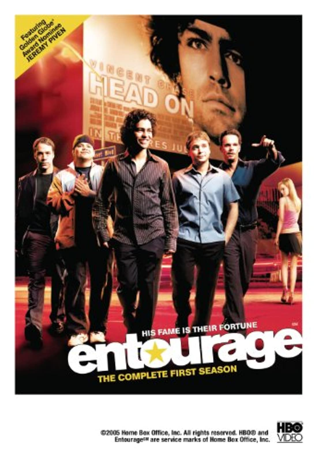 Image 0 of Entourage: The Complete First Season On DVD