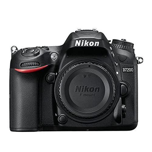 Nikon D7200 Dx-Format DSLR Body Black Camera Digital