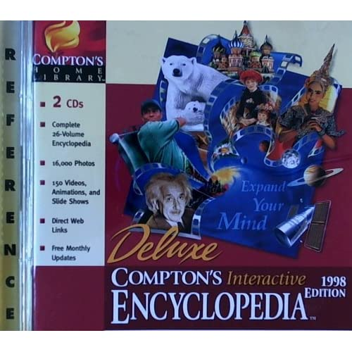 Comptons Interactive Encyclopedia 98 L/WW95/US Software
