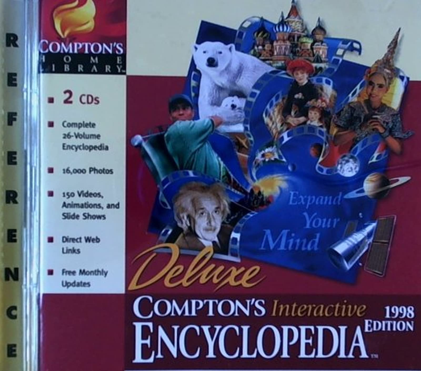 Comptons Interactive Encyclopedia 98 L/WW95/US Software