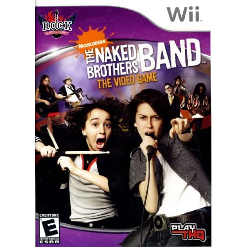 Naked Brothers Band For Wii And Wii U Action