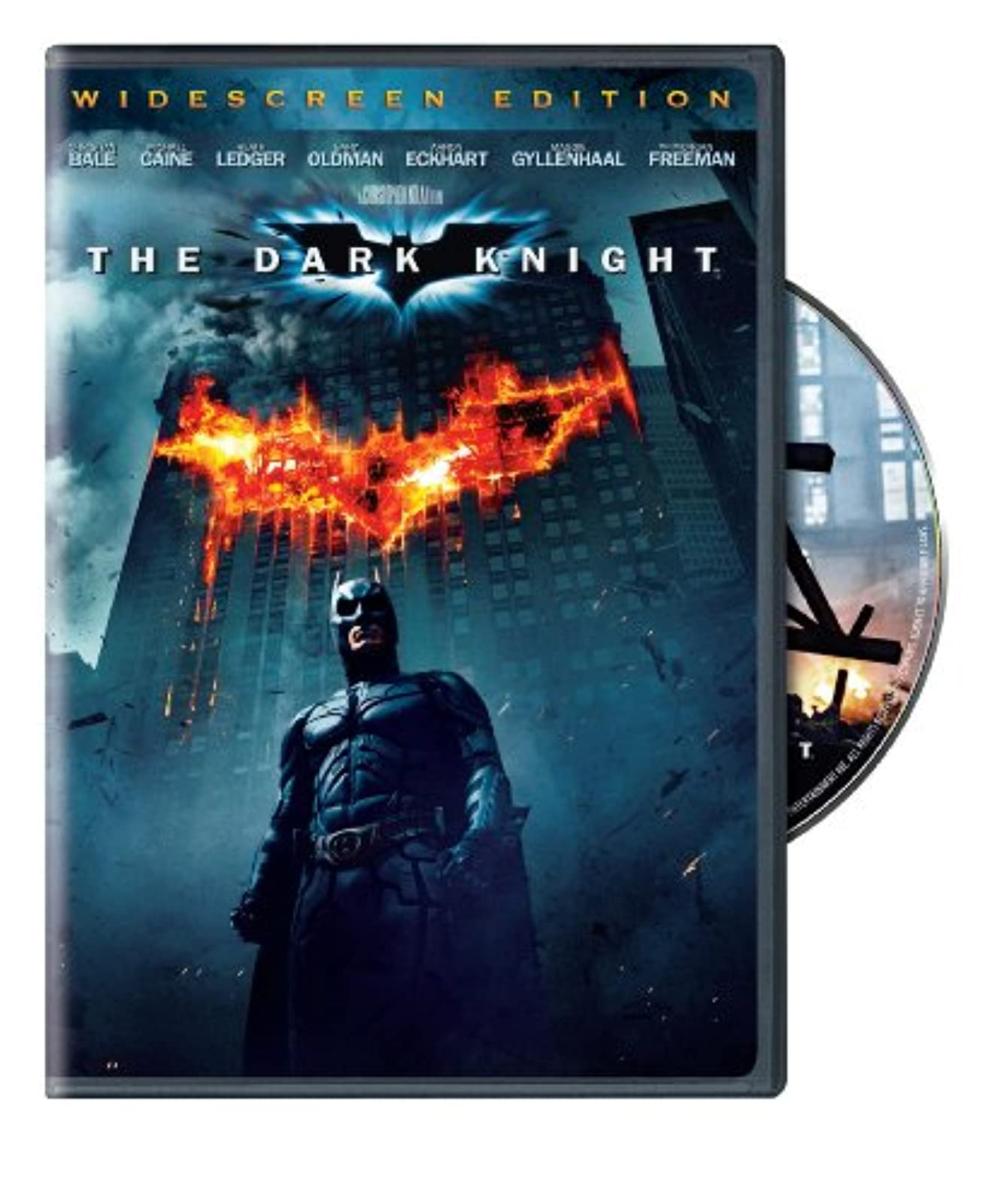 Image 0 of The Dark Knight Single-Disc Widescreen Edition On DVD With Christian