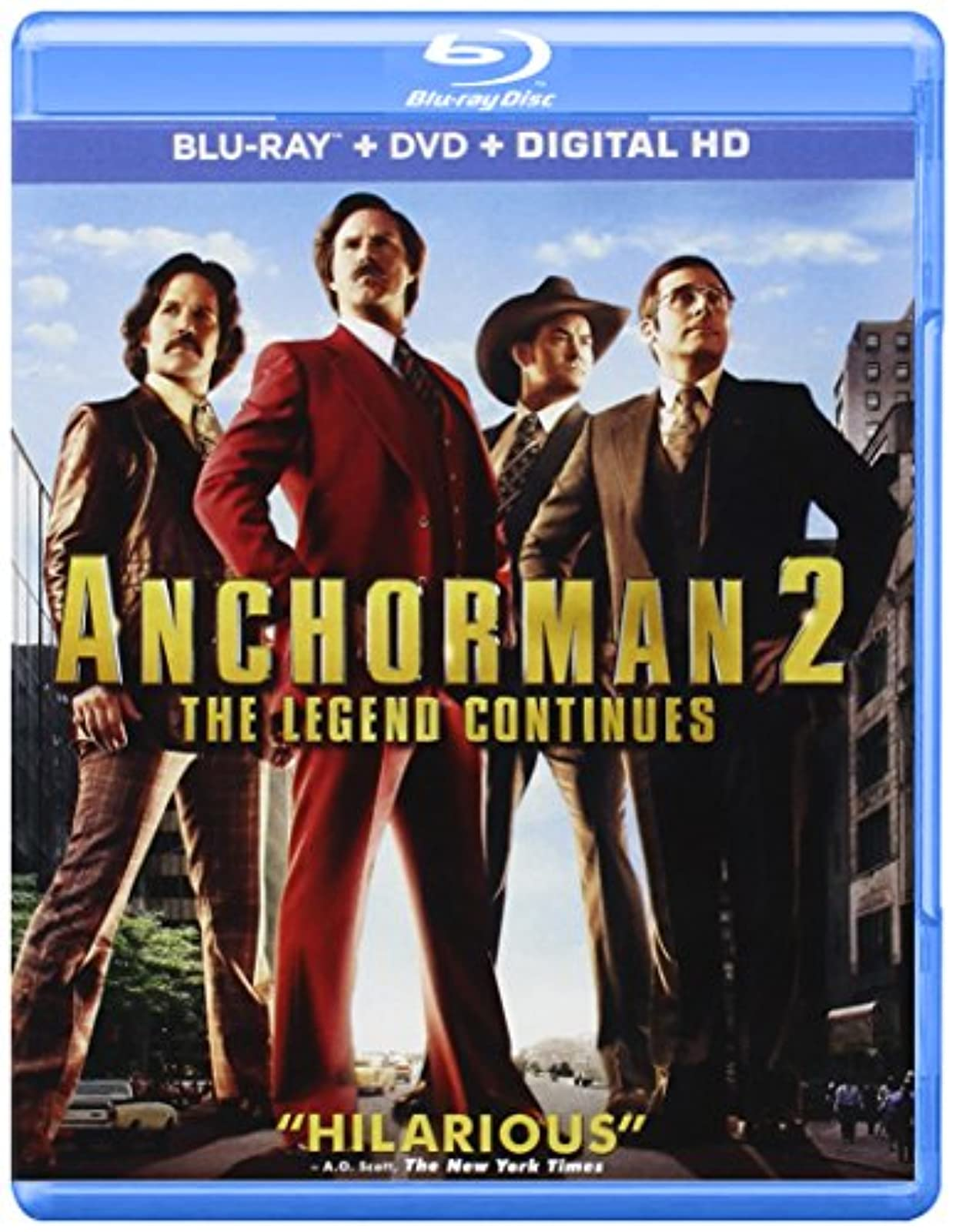 Anchorman 2: The Legend Continues Digital HD On Blu-Ray With Will