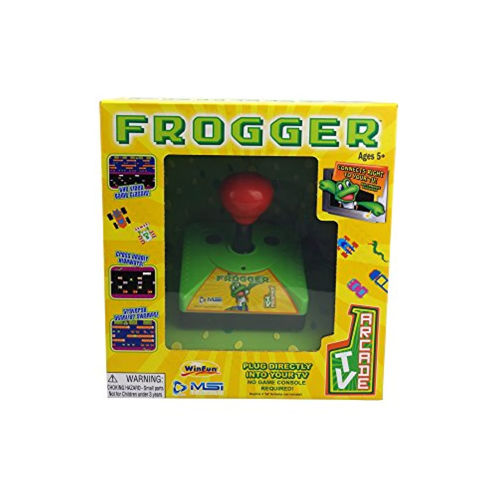 MSI Entertainment TV Arcade Frogger Gaming System Not Console