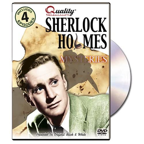 Image 0 of Sherlock Holmes Mysteries On DVD With Mystery